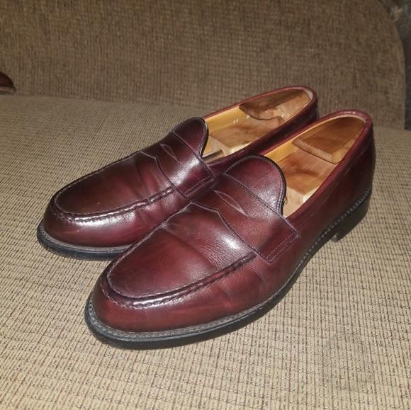 53f87b7c0fb Allen Edmonds Other - SALE Allen Edmonds Cole Brown Penny Loafers 11 D
